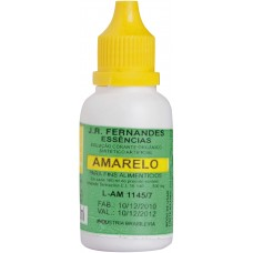 Corante Bolo Liq Amarelo 10Ml