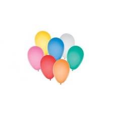 Baloes Ar Liso Cores Sortidas 6.5 50Un